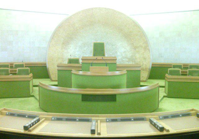 文京区議会の議場