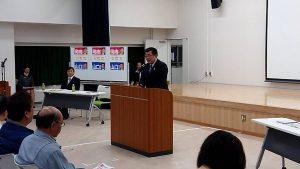 長橋都議会議員による応援挨拶