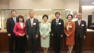 高木美智代衆議院議員と集合写真