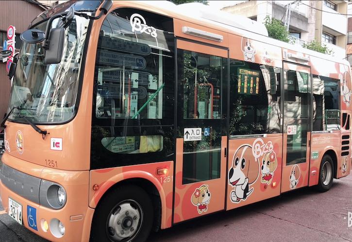 文京区コミュニティバス「B-ぐる」