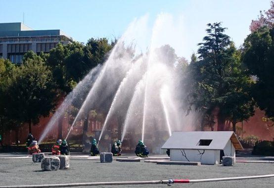 消防団員の皆様による訓練