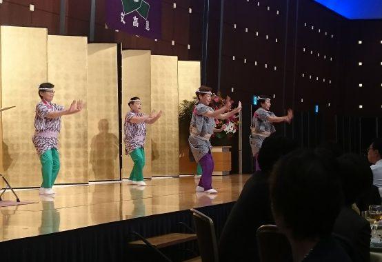 カッポレの舞踊